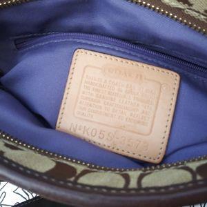 Coach Bags - Coach monogram patch work shoulder bag
